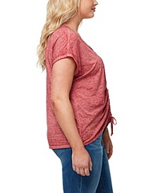 Women's Plus Smallz Ruched Tee