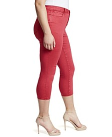 Women's Plus High Rise Skinny Crop Jean