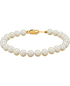 Children's Cultured Freshwater Pearl (4-1/2-5mm) Bracelet