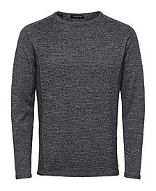 Selected Men's Ribbed Lightweight Sweater