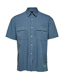 Men's Solid Short Sleeve Shirt