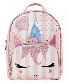Girls Miss Gwen Striped Mini Backpack