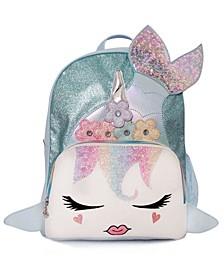 Girls Miss Gisel the Mermaid Full Size Backpack