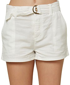 Juniors' Cambridge Belted Shorts