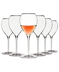 Karen MacNeil Flavor First, Set of 6 Crisp & Fresh Wine Glasses