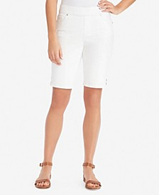 Women's Avery Pull-On Bermuda, in Regular & Petite Sizes