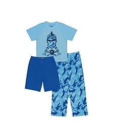 Fortnite Big Boy 3 Piece Pajama Set