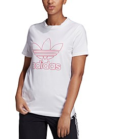 adidas Women's Outline Trefoil T-Shirt