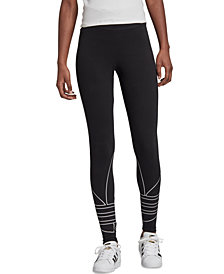 adidas Originals Women's Trefoil Logo Tights