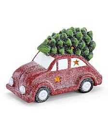 Car with Xmas Tree