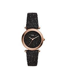 Limited Edition Lyric Three-Hand Black Fabric Watch 32mm