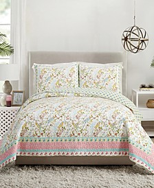 Sonnet 3-Piece Full/Queen Quilt Set