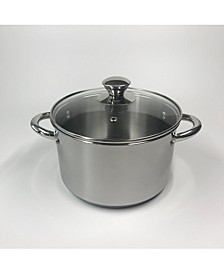 4-Qt. Stainless Steel Soup Pot with Lid, Created for Macy's