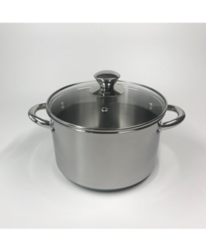 Tools of the Trade 4-Qt. Stainless Steel Soup Pot with Lid, Created for Macy's