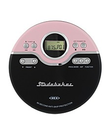 SB3703PB Joggable Personal CD Player with FM PLL Radio