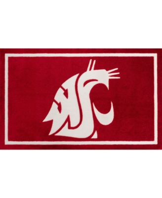 """Washington State Colwt Red 5' x 7'6"""" Area Rug"""