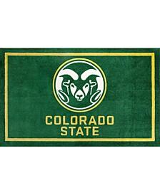 "Colorado State Colcs Green 3'2"" x 5'1"" Area Rug"