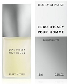 Receive a Complimentary Deluxe Mini with large spray purchase from the Issey Miyake L'eau d'Issey Pour Homme Fragrance Collection