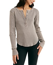 Everest Henley Thermal Top