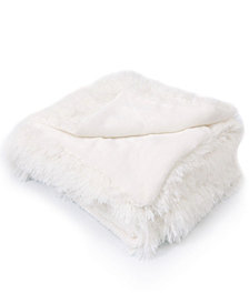 Cheer Collection Shaggy Throw Blanket