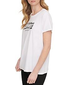 Sport Printed-Logo T-Shirt