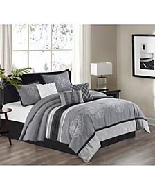 Como 7 Piece Comforter Set, King
