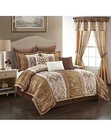 Siena 9 Piece Comforter Set, Queen
