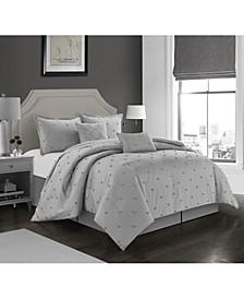 Rome 6 Piece Comforter Set, California King
