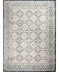 """Plymouth Ply-06 Gray 5' x 7'6"""" Area Rug"""