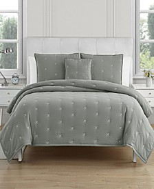 Jessica Megan 4 Piece Queen Comforter Set