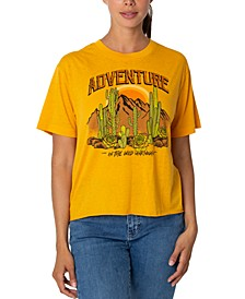 Juniors' Adventure Graphic T-Shirt
