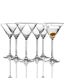 Lenox Tuscany Martini Glasses 6 Piece Value Set