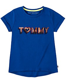 Big Girls Foil Tommy Heart Tee