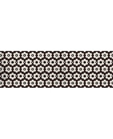 "Florart Chicago Tile Brown 1'10"" x 5'9"" Runner Rug"
