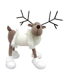 """9"""" Reindeer with White Sweater"""