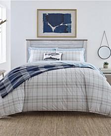 Grays Harbor Plaid King Comforter Set