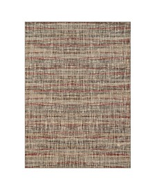 "Elements Fowler Burgundy 5'3"" x 7'10"" Area Rug"