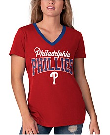 Women's Philadelphia Phillies Fair Ball T-Shirt