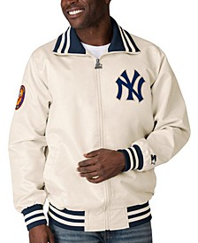 Men's New York Yankees Captain Coop Satin Jacket