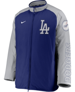 Nike Men's Los Angeles Dodgers Authentic Collection Dugout Jacket