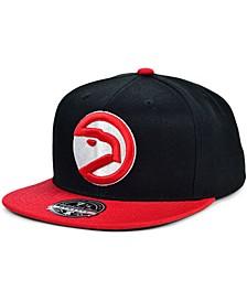 Atlanta Hawks Wool 2 Tone Fitted Cap