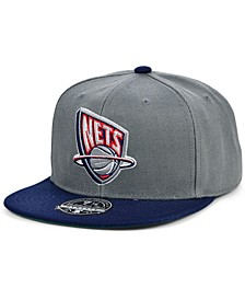 New Jersey Nets Wool 2 Tone Fitted Cap