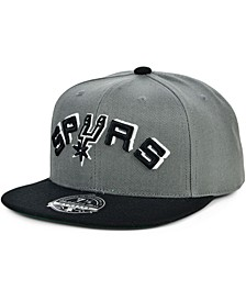 San Antonio Spurs Wool 2 Tone Fitted Cap
