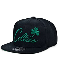 Boston Celtics Team Ground Fitted Cap