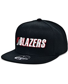 Portland Trail Blazers Team Ground Fitted Cap