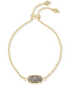 14k Gold-Plated Stone Slider Bracelet
