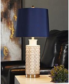 Ceramic Metal Table Lamp