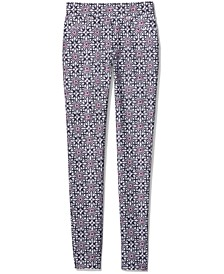 Pop Tangier Printed Pull-On Pants, Regular & Petite Sizes