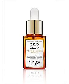 C.E.O. Glow Vitamin C + Turmeric Face Oil, 0.5-oz.