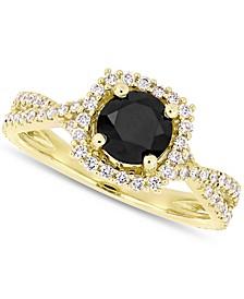 Diamond Halo Engagement Ring (1-1/2 ct. t.w.)